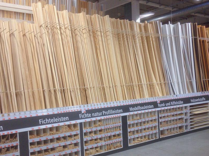 Soernsen Leistungen Holzleisten